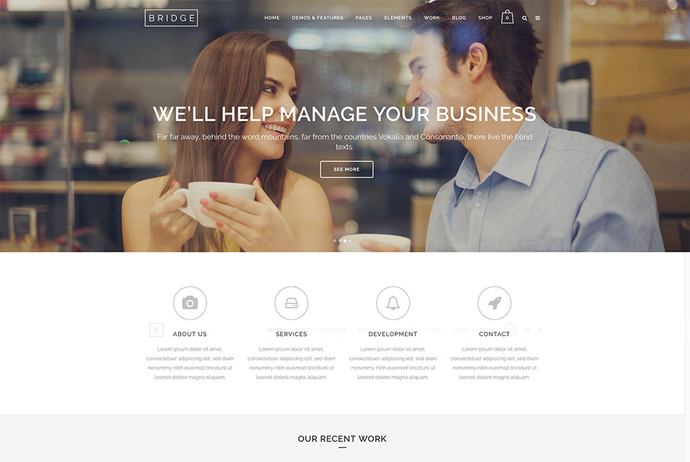 Best business WordPress Themes 2019