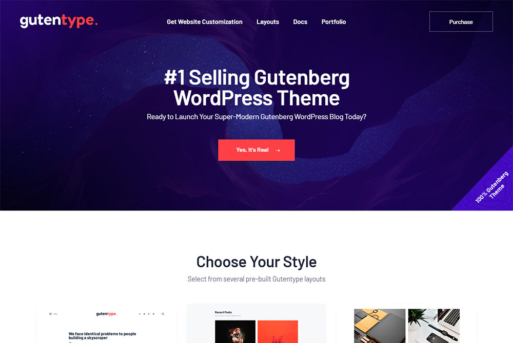 Best Gutenberg Ready WordPress Themes 2019