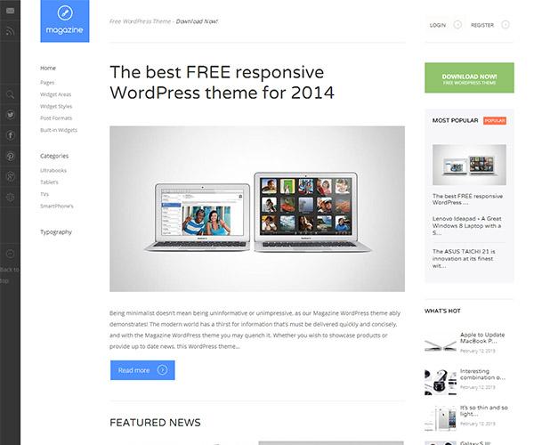 Free magazine wordpress theme 2014 -best wordpress magazine theme 2014