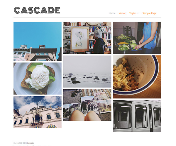 Cascade WordPress Theme