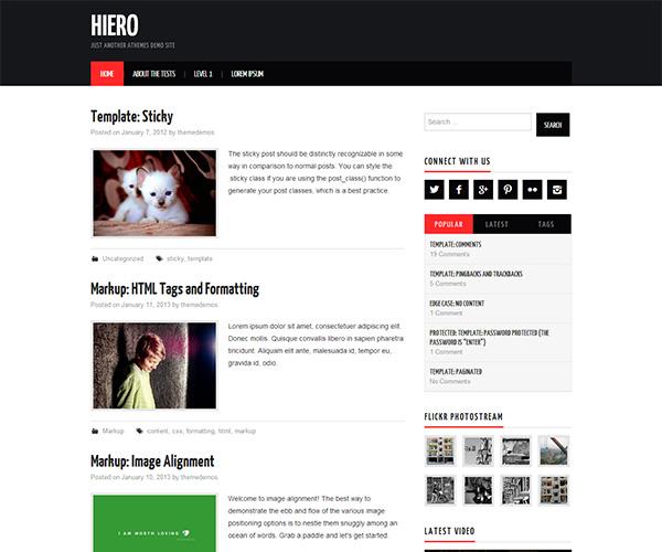 Hiero WordPress Theme