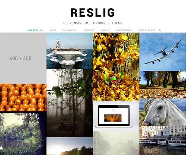Reslig WordPress Theme