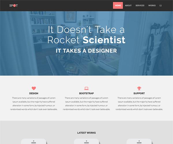 Spot WordPress Theme