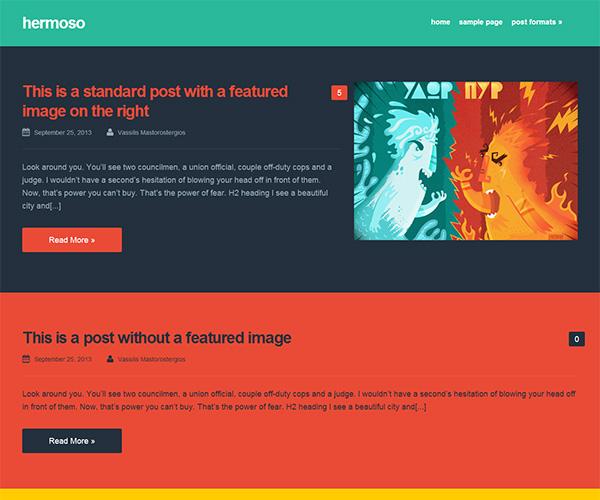 Hermoso WordPress Theme