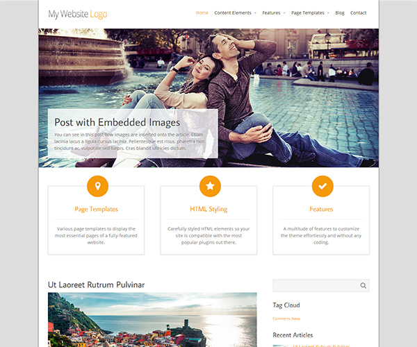 Intuition WordPress Theme