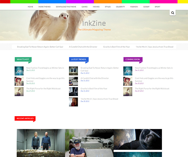 InkZine WordPress Theme