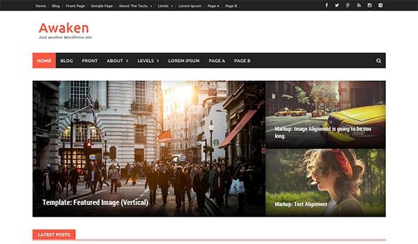 Awaken WordPress Theme