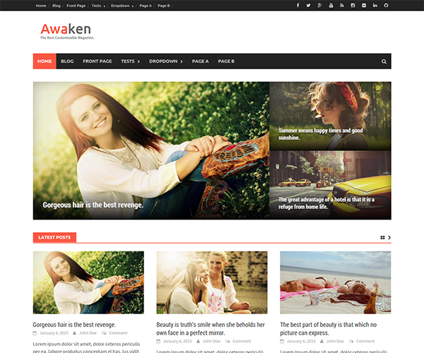 Awaken Pro WordPress Theme