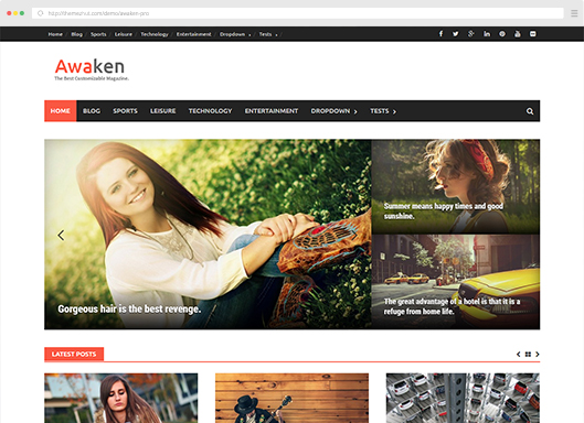 Awaken Pro WordPress Theme