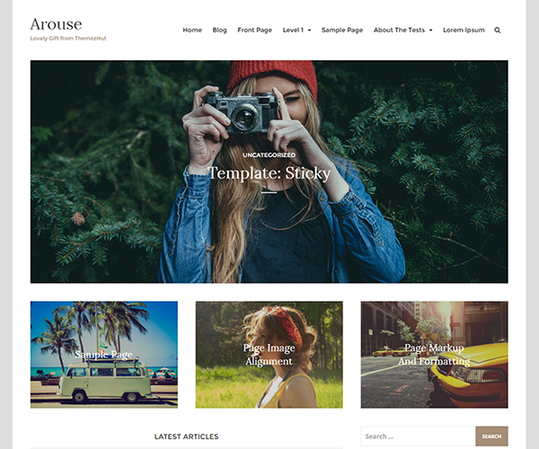 arouse-wordpress-theme