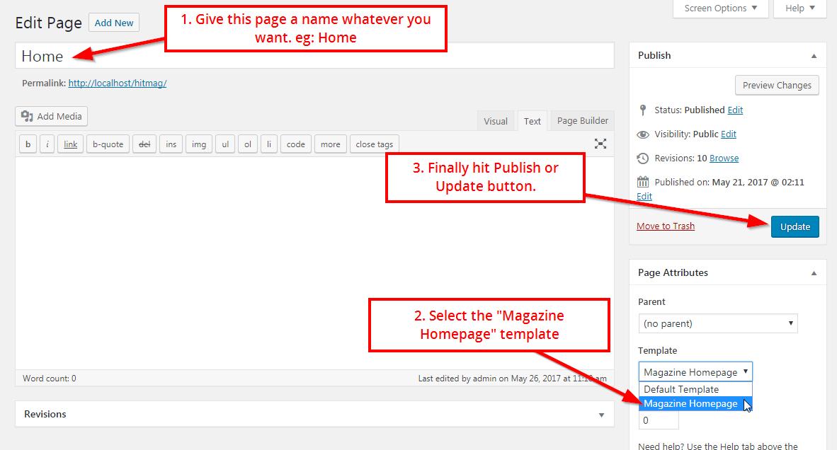 HitMag WordPress theme documentation-ThemezHut